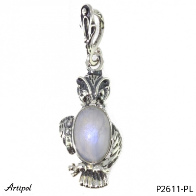 Pendant Amber silver gilded