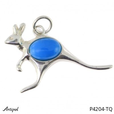 Pendant with real Amethyst - European product French style - Jewellery in rhodium silver - Ref P-34-07