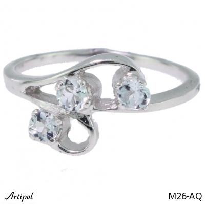 Ring Amethyst faceted
