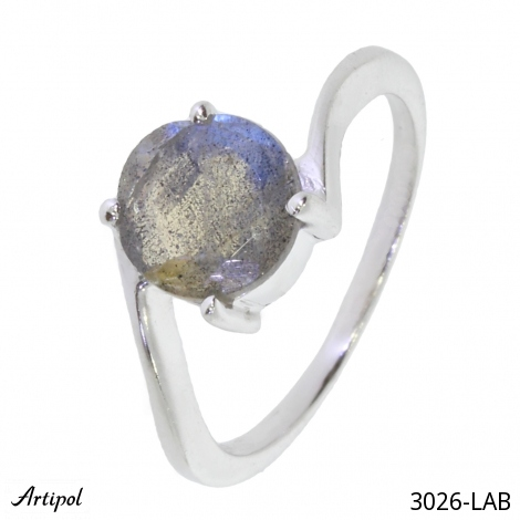 Ring Amethyst faceted M-49