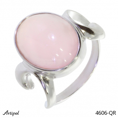 Ring with real Lapis-lazuli - European product French style - Jewellery in rhodium silver - Ref 38-03