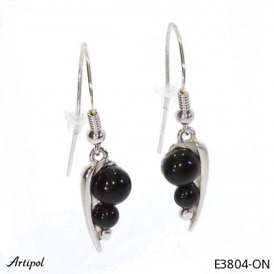 Ring with real Amber - European product French style - Jewellery in rhodium silver - Ref 30-15