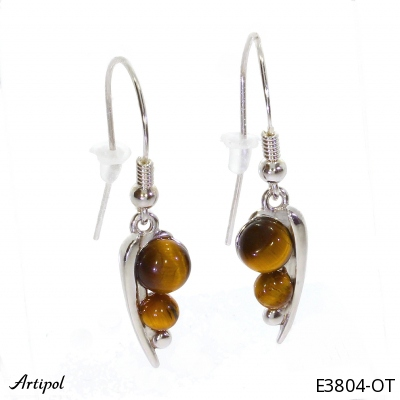Ring with real Turquoise - European product French style - Jewellery in rhodium silver - Ref 30-15