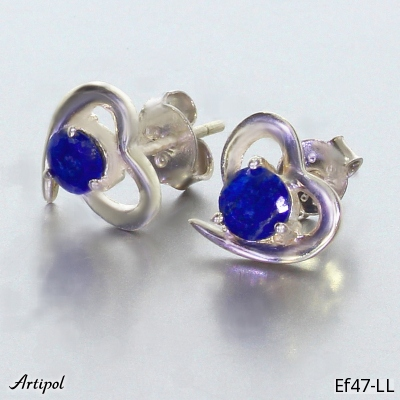 Ring with real Black onyx - European product French style - Jewellery in rhodium silver - Ref 26-06