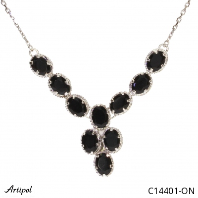 Earrings with real Amber - European product French style - Jewellery in rhodium silver - Ref E-62-03