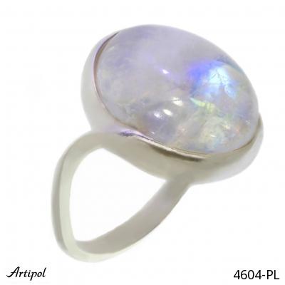 Bague en Lapis-lazuli 42-14 - Bijoux en argent rhodié et Lapis-lazuli en cabochon