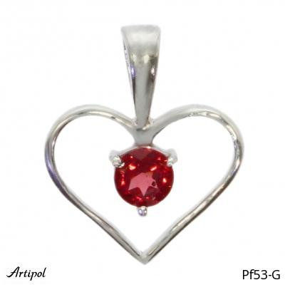 Earrings Garnet