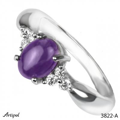 Bracelet Amethyst faceted