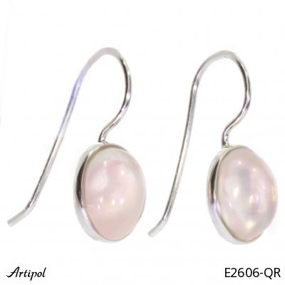 Earrings Amber silver gilded