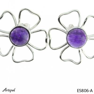 Earrings Blue Topaz
