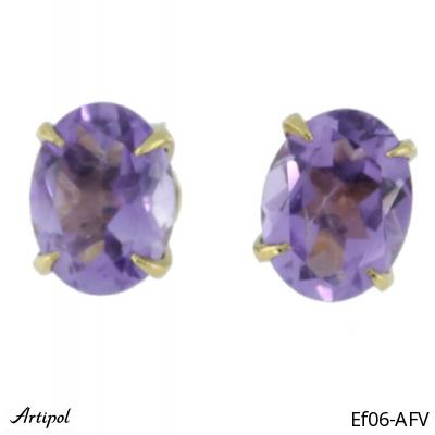 Boucles d'oreilles Aigue-marine