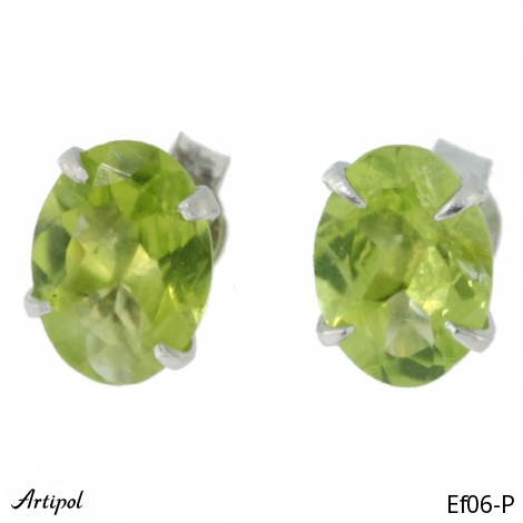 Earrings Aquamarine Ef 39