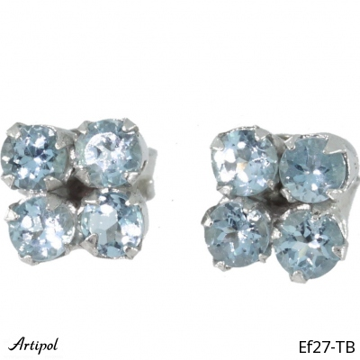 Earrings Garnet