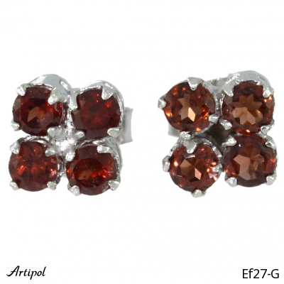 Earrings Ruby