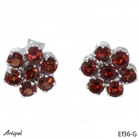 Earrings Garnet Ef 30